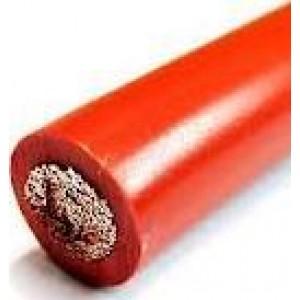 POWER WIRE 0 GAUGE MATTE RED
