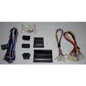 3 SWITCH POWER WINDOW KIT WITH HOUSING
